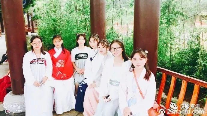 龙陵汉服文化巡礼—龙山湖游园