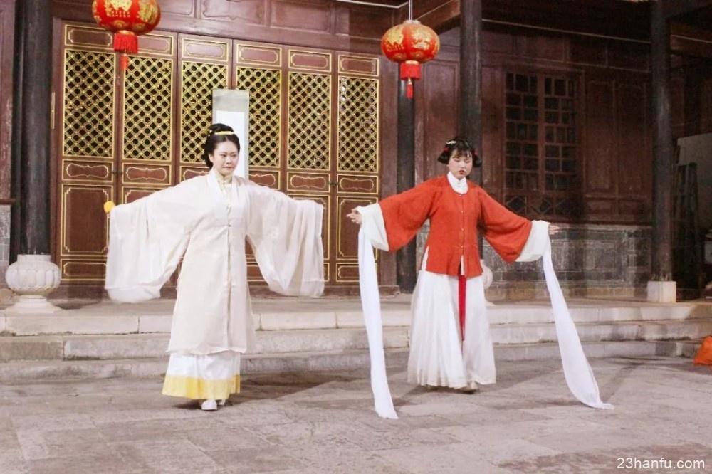 【活动返图】华服佳节翩起舞,月下乞巧拜织女