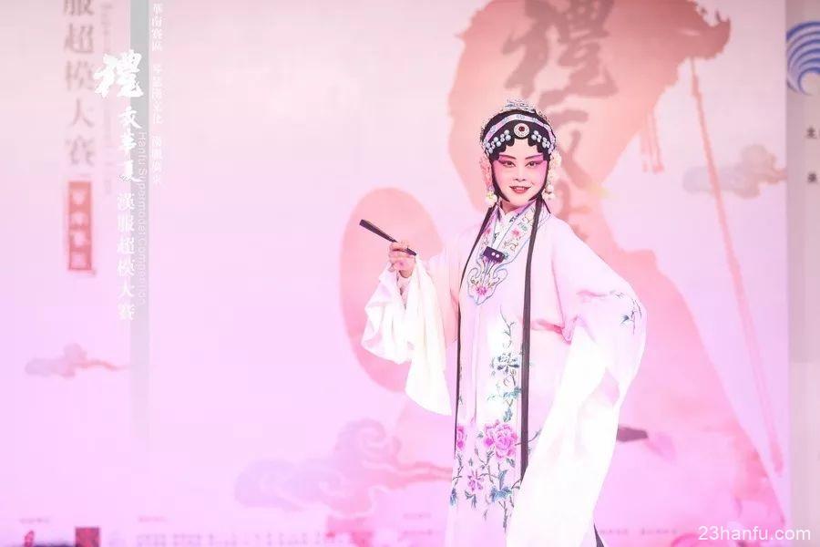 【活动返图】汉服超模群星闪耀南国书香节!