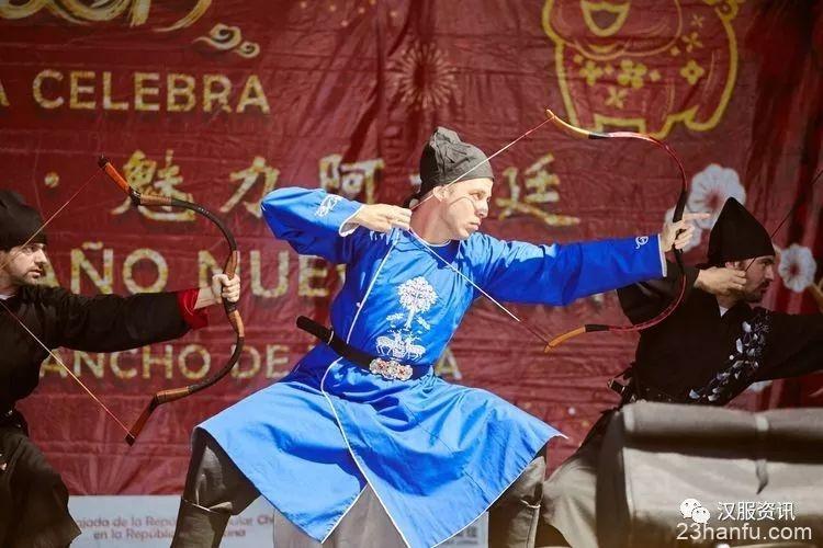 阿根廷【天南汉家】汉服社参加2019年阿根廷欢乐春节庙会活动圆满成功