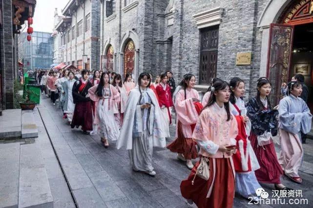 000名汉服同袍齐聚江城