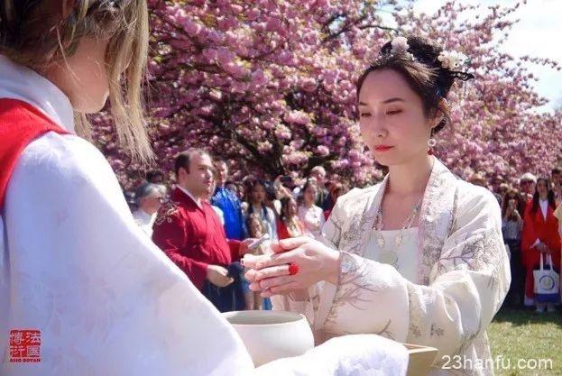 十里樱林·落点红妆|法国第五届樱花上巳节落幕