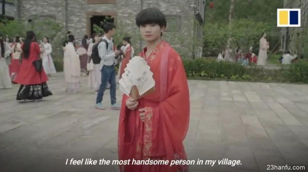 【汉服资讯】相比一味追崇西方文化,中国年轻人宣传汉服实在很酷
