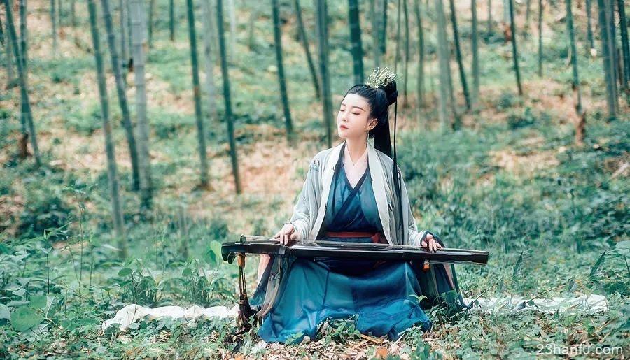 【汉服美图】魏晋南北朝时期壁画复原造型