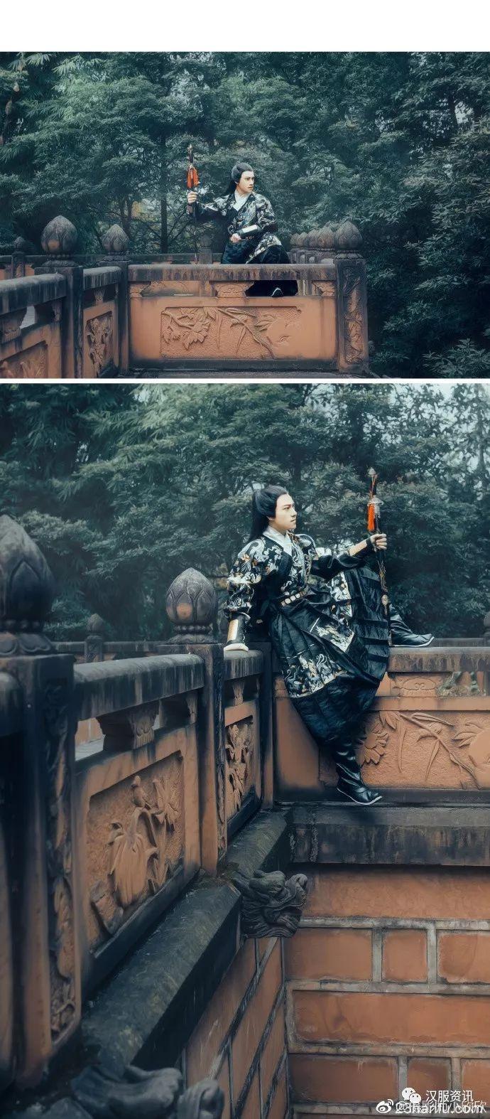 【汉服美图】苍茫大地一剑尽挽破