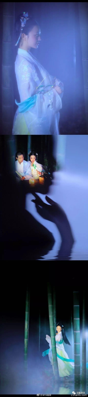 【汉服摄影】月夜,荒店,烛光