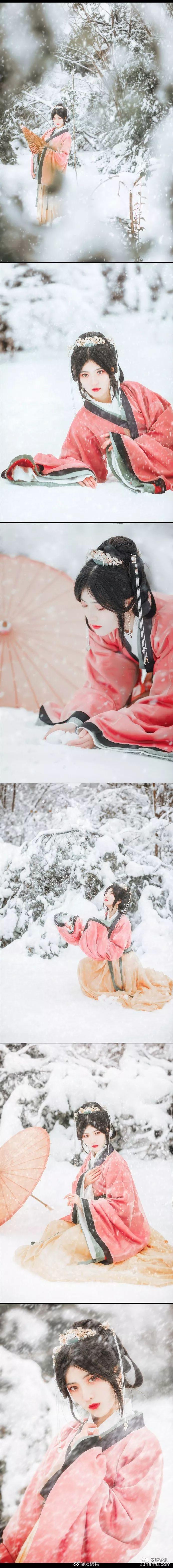 【汉服摄影】你是雪 我是尘埃