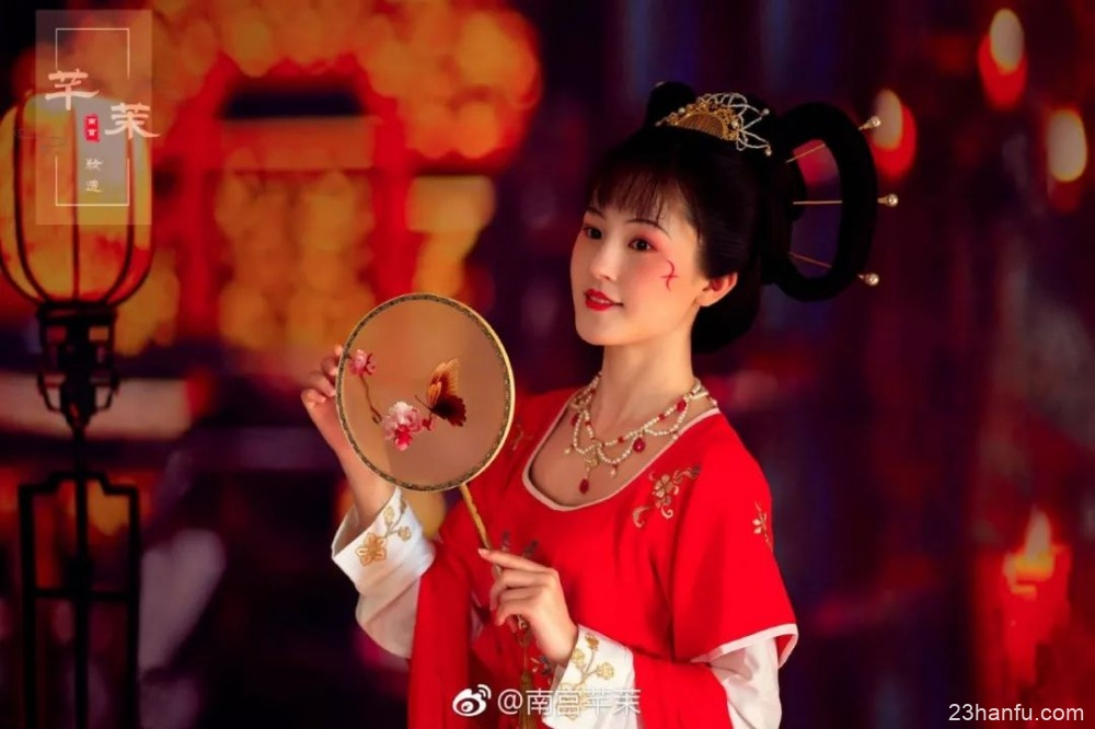 【汉服妆造】南宫芊茉——唐·盛世风华