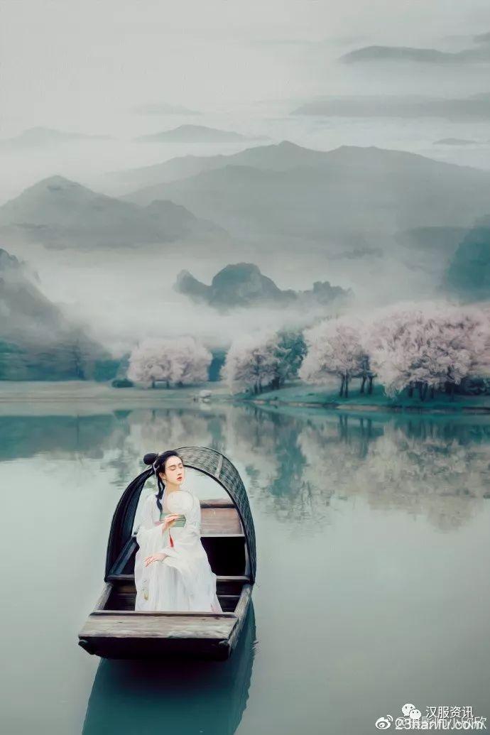 【汉服摄影】一棹春风一叶舟