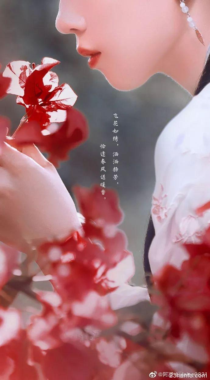 【汉服美图】飞花如绣