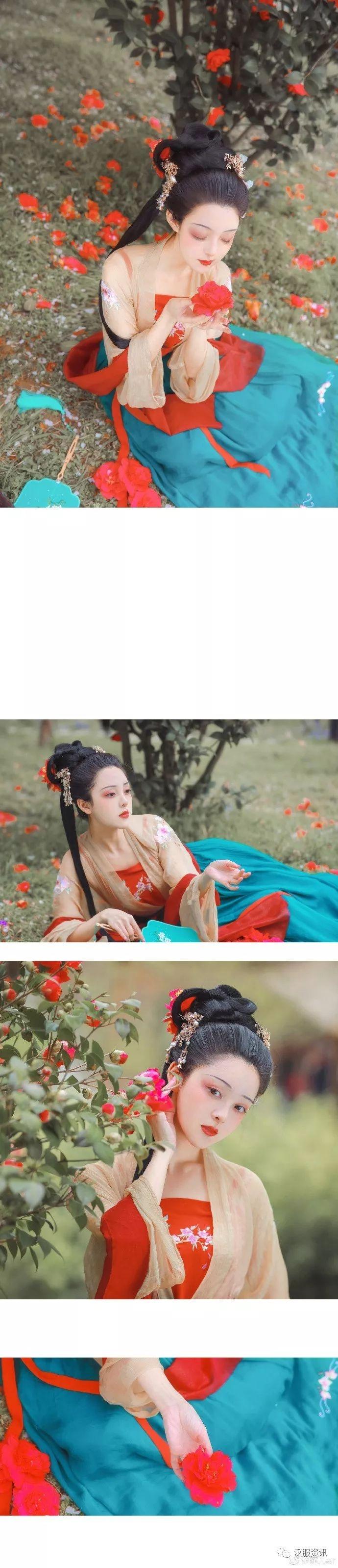 【汉服摄影】山茶