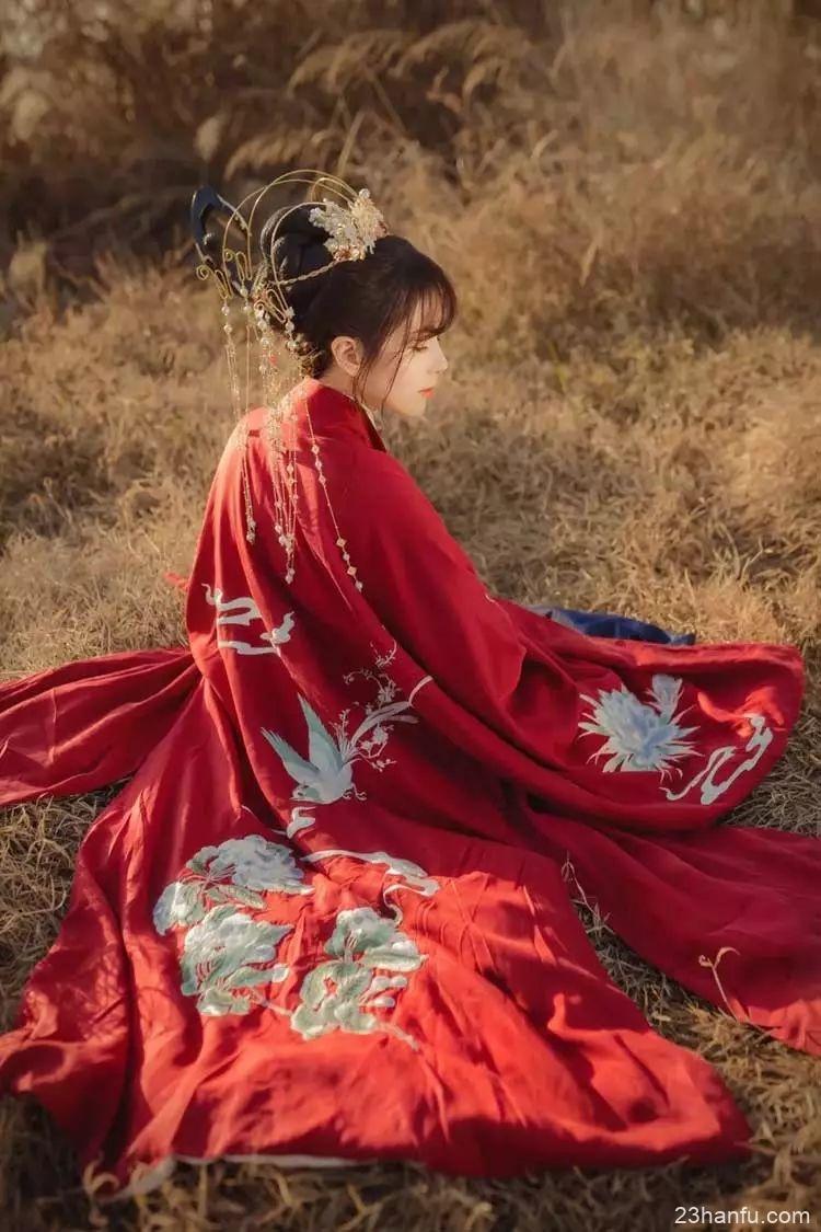 【汉服摄影】那一抹烈阳燃烧的红