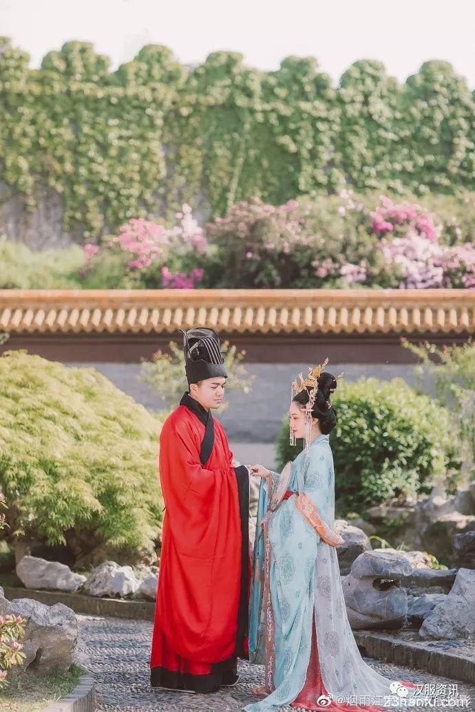 【汉服婚礼】在天愿作比翼鸟