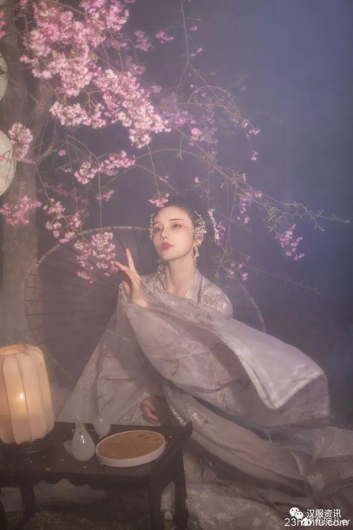 【汉服摄影】夜樱