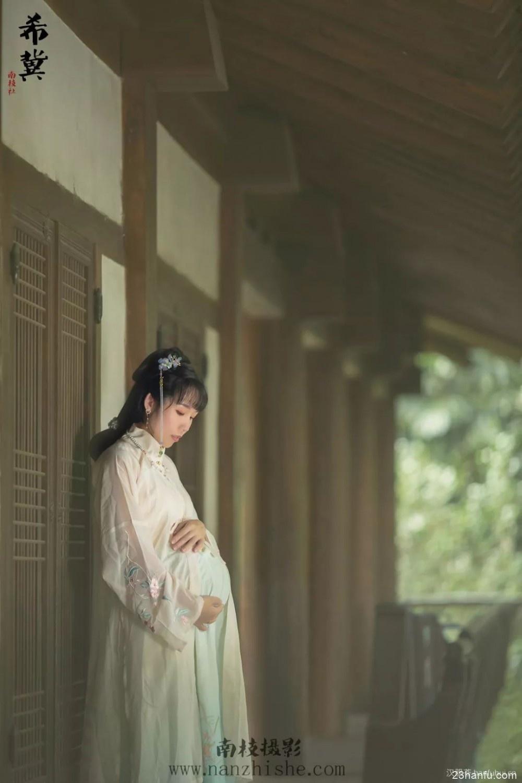 【汉服孕照】每一个宝宝,都是上天带来的礼物