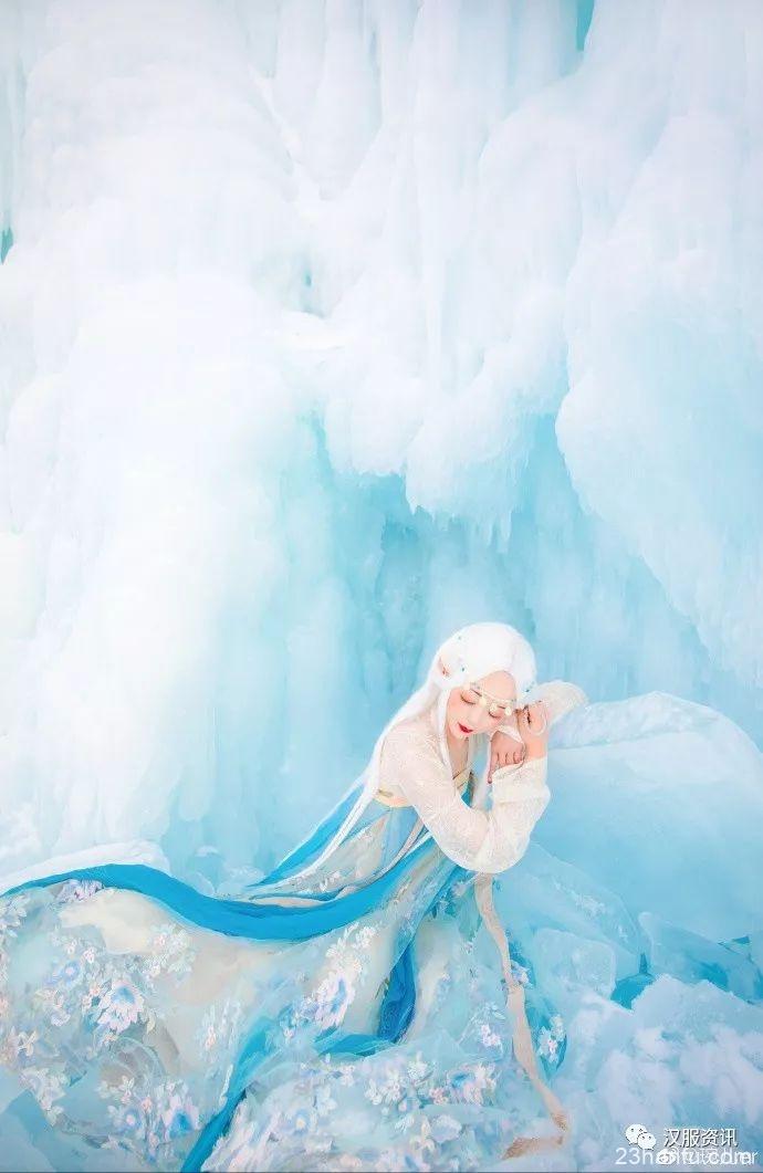 【汉服摄影】拂冰