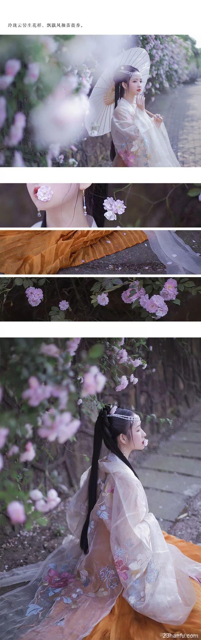 【汉服美景】水晶帘动微风起