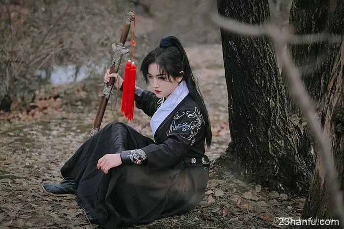 【汉服武侠】侠客剑,走偏锋