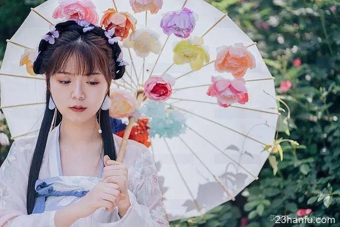 【汉服美景】蝶恋花