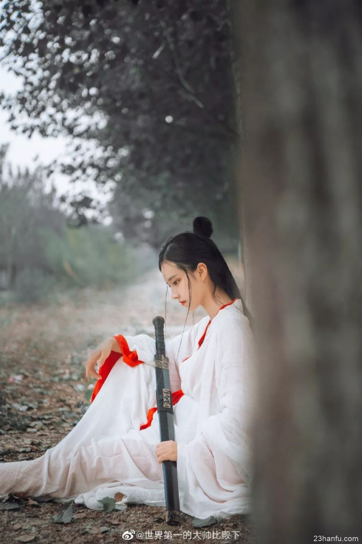 【汉服侠女】倚天万里须长剑