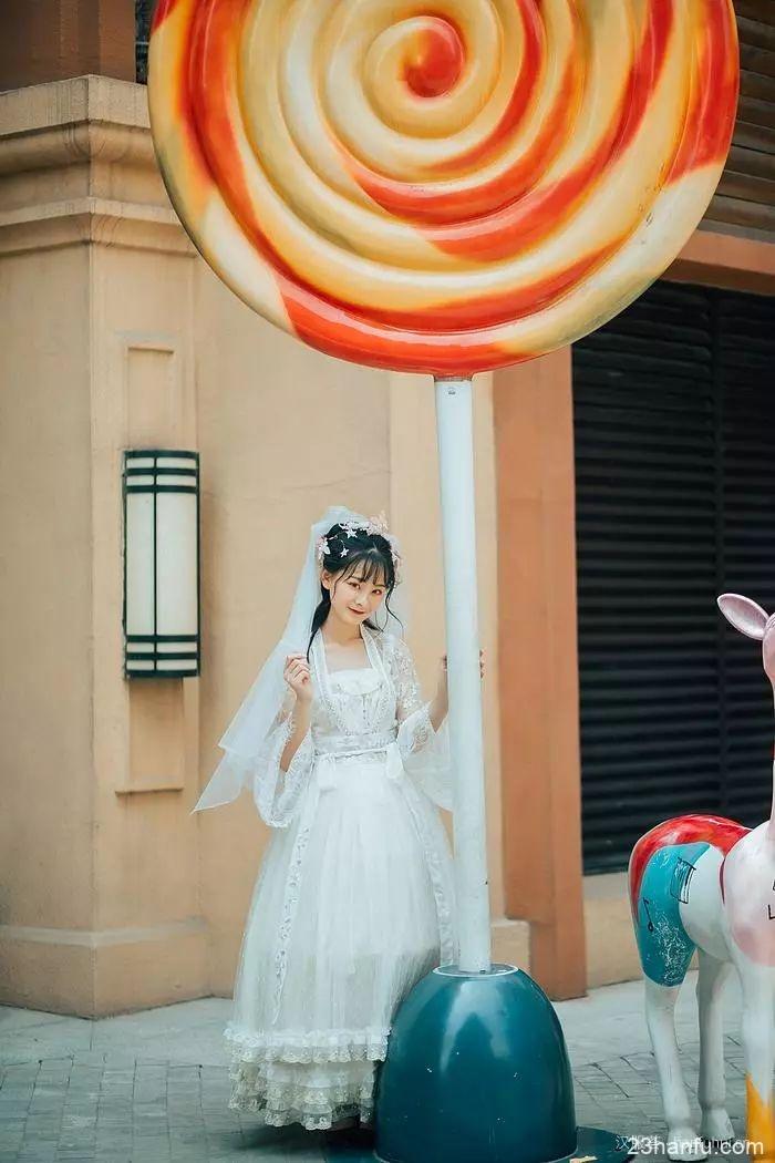 【汉服花嫁】你的笑像西瓜最中间那一勺的口感