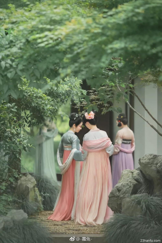【汉服摄影】呼唤汉服小姐妹,夏日炎炎庭院消暑