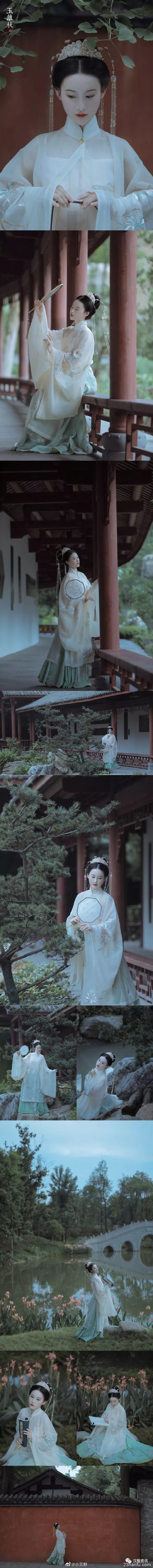 【汉服私影】玉簟秋
