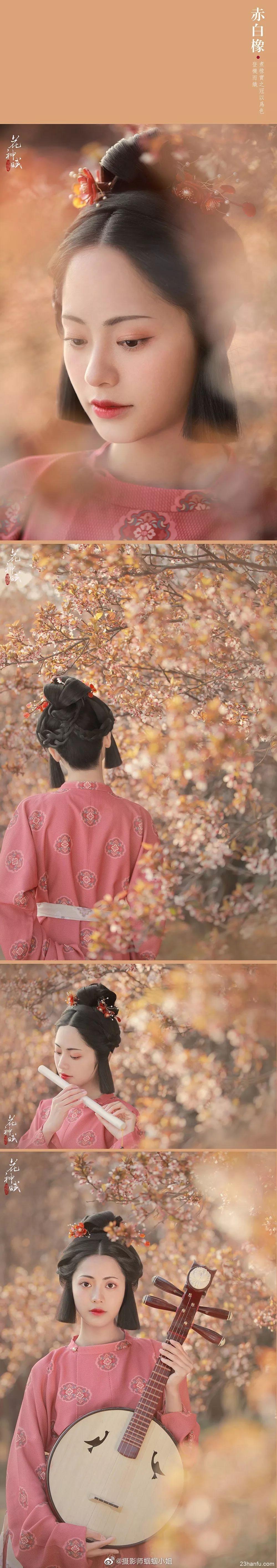 【汉服摄影】十位汉服美人演绎最美中国色
