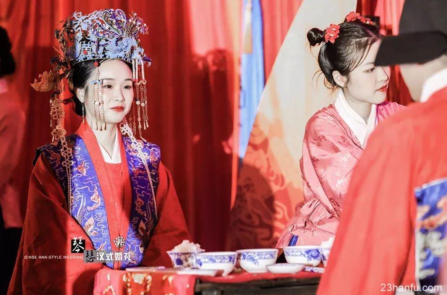 【汉服婚礼】温馨浪漫的明风汉式婚礼