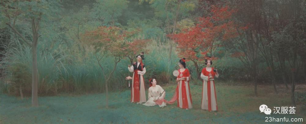 【汉服群像】春山 · 雅集