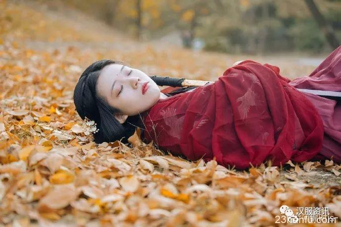 【汉服私影】零落一身秋