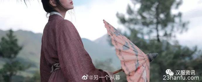 【汉服私影】本是山中人,爱说山中话。