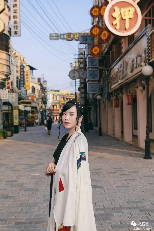 【汉式日常】时髦复古的港风,气质穿搭一眼爱上~