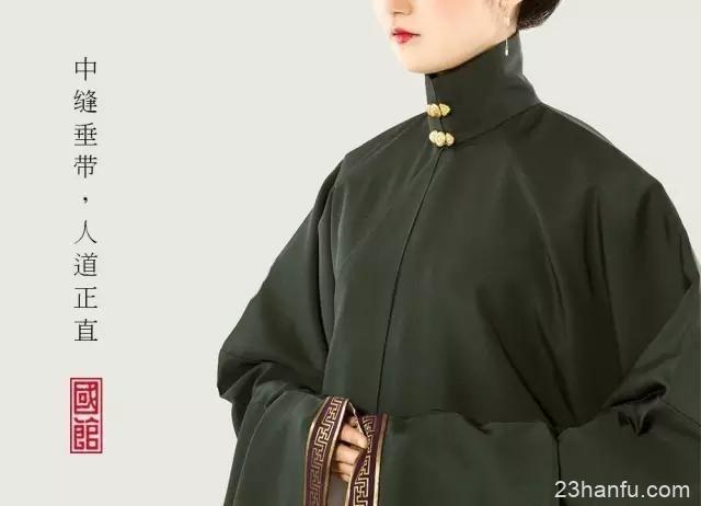 对中国古代服饰的研究,张园林迷上了汉服-图片1