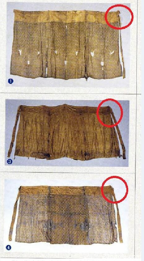 【问答集】裙子系带一高一低的做法,有文物对应么