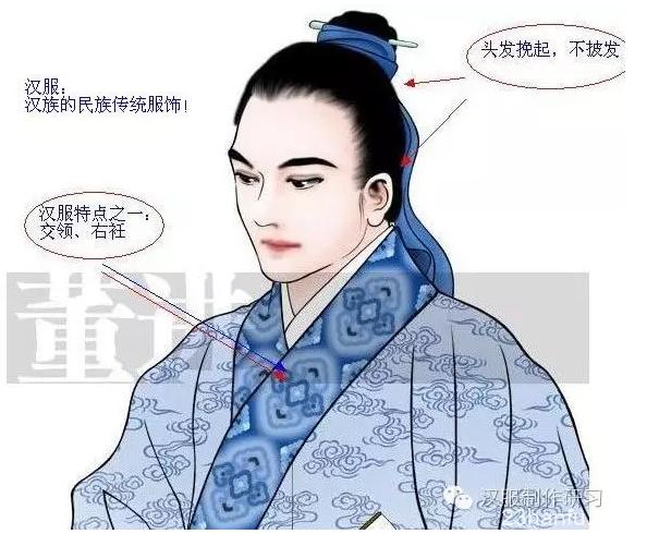 美得冒泡的汉服文化