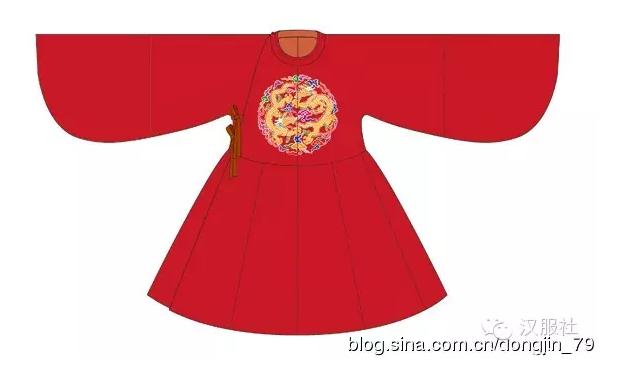 图说明代宫廷服饰——皇后常服