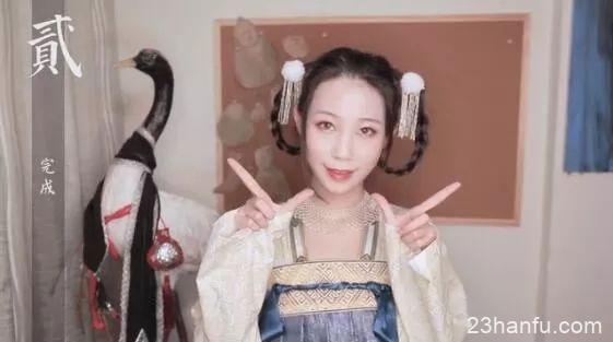 【汉服发型】手残福音!八款巨简单的发型教程合集(无假发包)