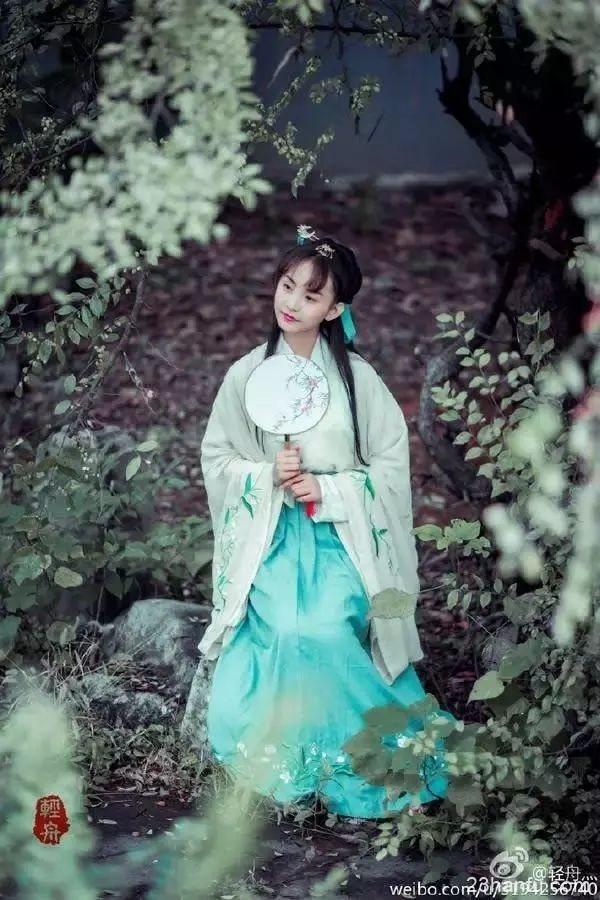 汉服,是东方人最美的服饰,没有之一