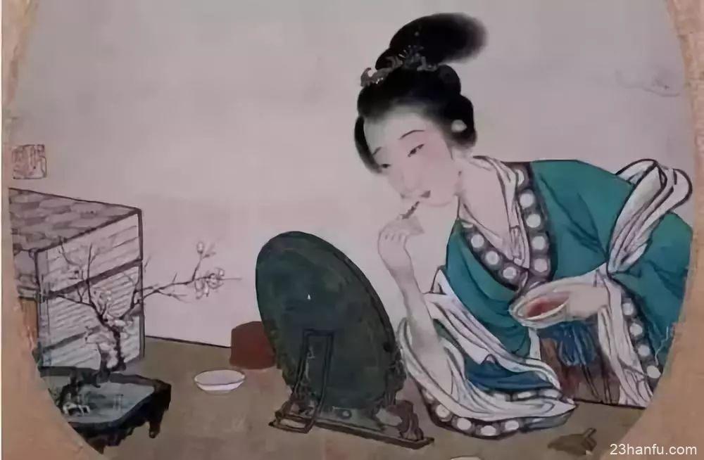 美妆冷知识:古代不止有抿一抿的胭脂纸,还发明过管状口红