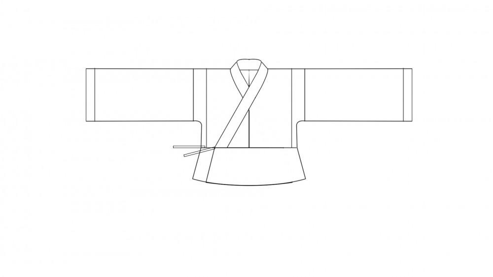 零基础入门自学做汉服:第5课,从打版开始做一件晋襦
