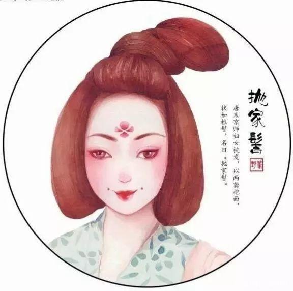 唐朝女子发式,即使今日也属惊艳!
