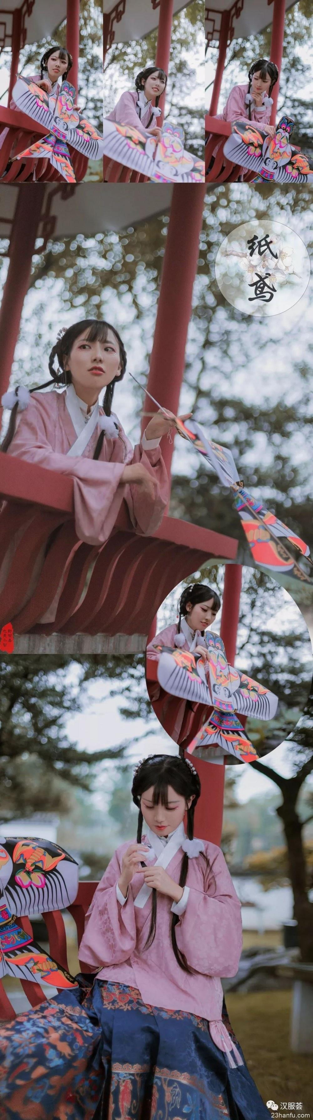 【汉服新年】纸鸢&糖葫芦,你喜欢哪个?