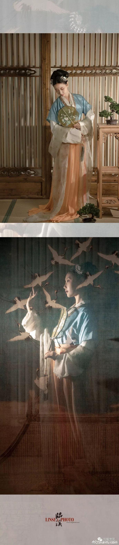 【汉服私影】风拍小帘灯晕舞